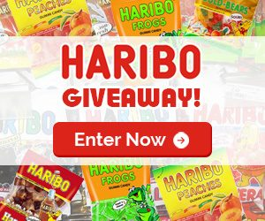 Haribo Candy Giveaway