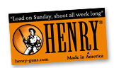 Free Henry Rifle Catalog And Sticker