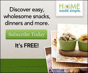 Free Home Made Simple Menu Planner