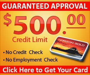Need To Raise Your Credit Score? Check Out The Horizon Gold Card