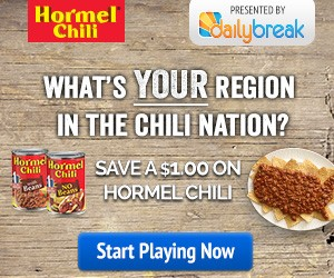 Hormel Chili Sweepstakes & Coupon