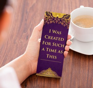 """Free """"I Was Created For Such A Time As This"""" Bookmark"""