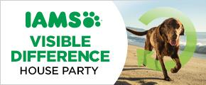 IAMS Visible Difference House Party