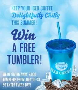 International Delight Iced Coffee Tumbler Giveaway