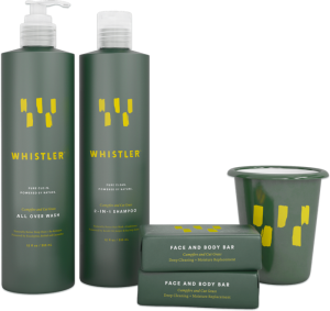 Possible Free Travel Sized Whistler Shampoo And Conditioner