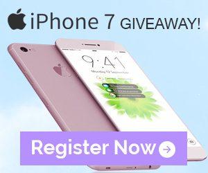 Vaniki iPhone 7 Giveaway