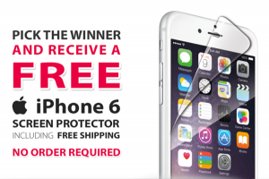 Free iPhone 6 Screen Protector If You Pick The Super Bowl Winner