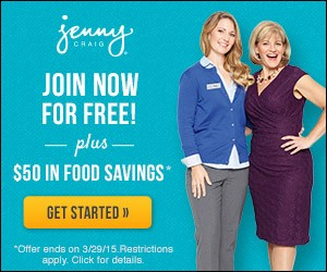 Join Jenny Craig And Get $50 In Food Savings