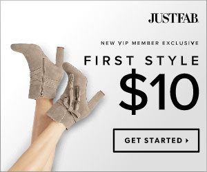 f89eed0aaca13 JustFab – New VIP Member Exclusive – First Style  10!