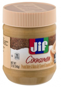 Crowdtap - Free Jif Peanut Butter and Naturally Flavored Cinnamon Spread