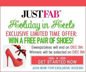 Enter To Win A Free Pair Of Shoes From JustFab