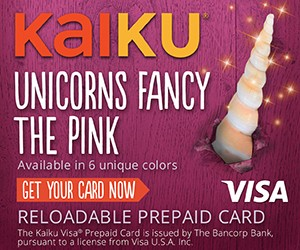 Free Kaiku Reloadable Visa Card