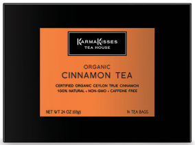 Free Sample of Karma Kisses Organic Cinnamon Herbal Tea
