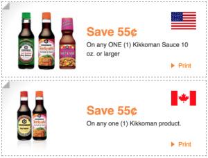Printable $.55 Off Kikkoman Products Coupon