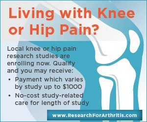 Knee or Hip Pain Study Pays Up To $1,000