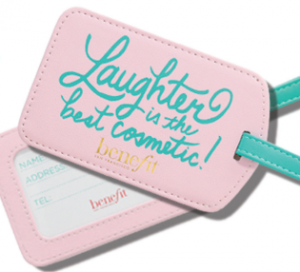 Free Laughter Is The Best Cosmetic Luggage Tag From Sephora (Inside JCPenney)