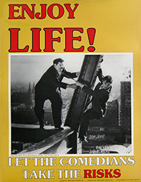Free Laurel and Hardy Safety Poster from the National Resource Safety Center