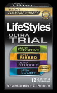Free Lifestyles Condom Sample