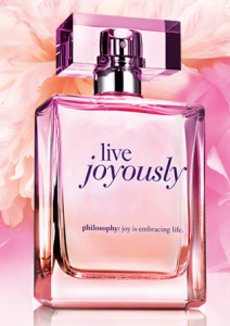 "Free Sample Of Philosophy ""Live Joyously"" Fragrance"