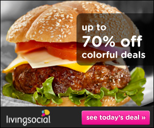 LivingSocial: Get up to 70% off great deals on restaurants, spas, and experiences in your city!