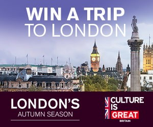 Enter To Win A Trip For Two To London