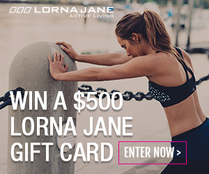 Enter To Win A $500 Lorna Jane Gift Card