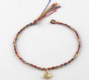 "Free Multicolored Love Bracelet From ""The Love Team"""