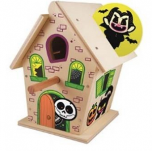 Free Haunted Birdhouse at Lowe's on 10/10