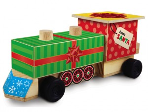Free Train Engine at Lowe's on 12/12