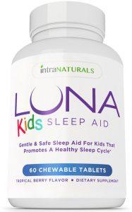 Free Bottle Of Luna Kids Sleep Aid