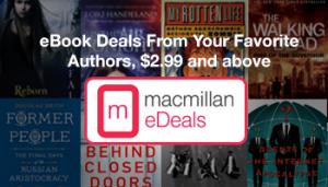 Macmillan eDeals - Top Selling eBooks Newsletter