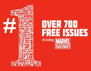 Marvel #1 Promotion: Free Digital Comics