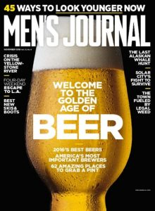 Free One Year Subscription To Men's Journal Magazine