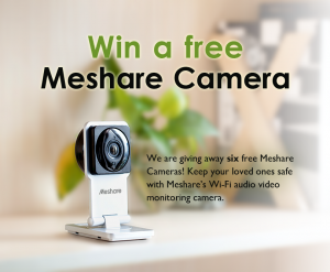Enter to Win a Meshare Camera