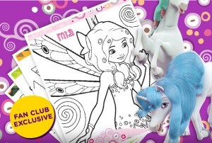 Free Printable Mia And Me Coloring Pack From Nick Jr.