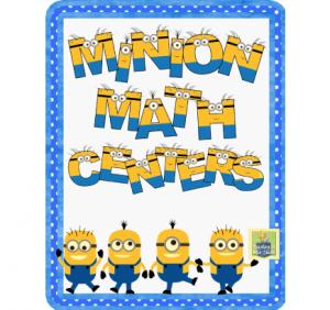 Free Printable Minion Math Centers