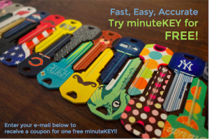 Free MinuteKey At One Of Their Kiosks