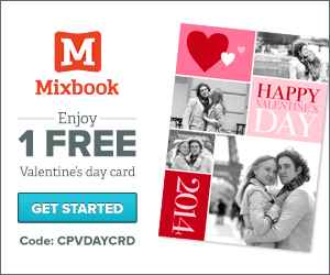 Free Personalized Valentine's Day Card From Mixbook