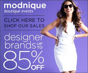 Modnique Daily Deals - Save Up To 85% Off Designer Brands!