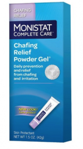 Free Sample Of Monistat Chafing Relief Powder Gel