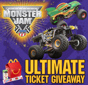 Monster Jam Ultimate Ticket Giveaway Sweepstakes