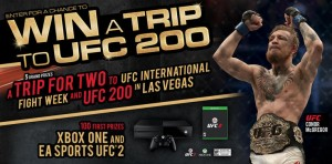 Monster Energy Chance to Win A Trip To UFC200