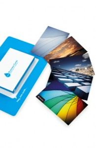 Free 10 pack sample of moo business cards colourmoves