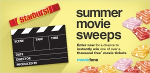 Starburst/Moviefone Summer Sweeps