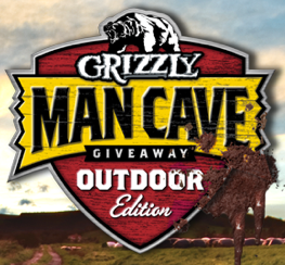 Grizzly Man Cave Giveaway Outdoor Edition