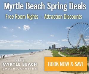 Myrtle Beach Spring Deals