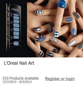 Free L'Oreal Nail Art