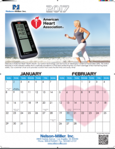Free Nelson-Miller's 2017 Calendar
