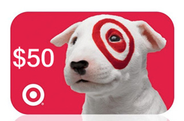 Enter To Win 1 of 4 $50 Target Gift Cards
