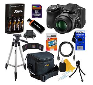 Enter To Win A Nikon CoolPix L830 Digital Camera Kit